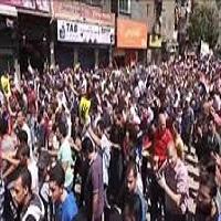 تصویر تظاهرات در مصر و درخواست کنارهگیری السیسی از قدرت
