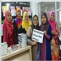 تصویر الزام حجاب برای بانوان شاغل در ایالت «کلانتان» مالزی