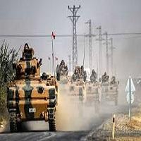 تصویر توافق ترکیه و کردها بر سر آتش بس موقت در شمال سوریه