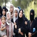 تصویر هزاران ترکمان در محاصره داعش