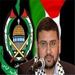 تصویر بازداشت سخنگوی حماس در کرانه باختری