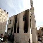 تصویر آتشزدن سومین مسجد در سوئد
