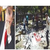 تصویر واکنش اردوغان به انفجارهای آنکارا