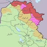تصویر رای ۹۲٫۷ درصدی به جدایی اقلیم کردستان از عراق