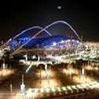 تصویر استادیوم المپیک آتن برای اقامه نماز عید فطر در اختیار مسلمانان قرار گرفت