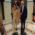 تصویر بی میلی مصر و اصرار آمریکا برای پیوستن قاهره به ائتلاف ضد داعش