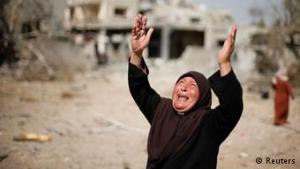 تصویر ۱۷۰۰نفرشهدو۹۰۰۰نفرمجروح غزه،درسکوتی مرگبار