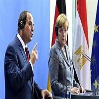 Photo of اعتراض در کنفرانس خبری مرکل و السیسی