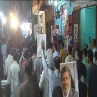 تصویر تظاهرات گسترده مصری ها برای برکناری سیسی