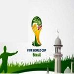 تصویر توزیع ۲۵۰ هزار نسخه قرآن در جام جهانی ۲۰۱۴