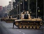 تصویر ارتش مصر بار دیگر با دخالت خود دولت مردمی مصر را خلع کرد