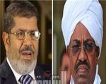 تصویر مرسی و عمر البشیر در خارطوم یک جلسه غیر علنی داشتند