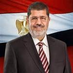 تصویر محمد مرسی، آزاد مردی  در زندان دموکراسی!