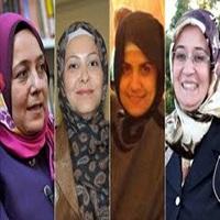 تصویر برای اولین بار در تاریخ ترکیه؛ ۲۱ نماینده زن محبجه در پارلمان حضور یافتند