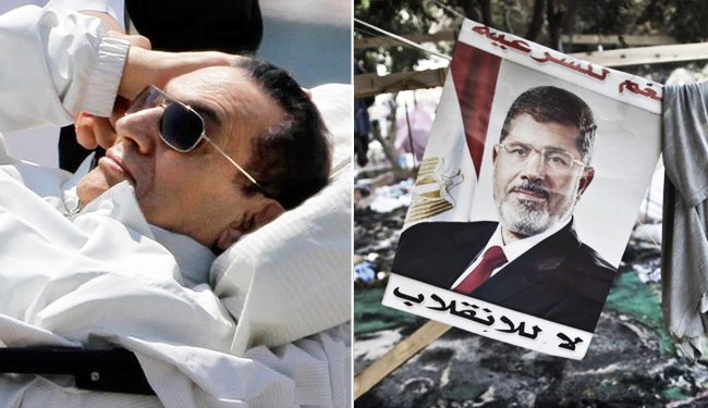 تصویر دغدغه های دیکتاتور سی ساله مصر در مصاحبه با او