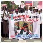 تصویر تحلیلی بر ربوده شدن دختران نیجریه ای توسط گروه بوکوحرام