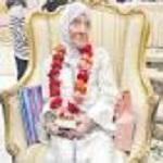 تصویر زن بلژیکی که در ۹۲ سالگی اسلام آورد!