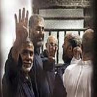 Photo of تصاویر: لحظات اعلام حکم اعدام مرسی