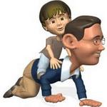 تصویر ۱۰ مورد از مهمترین وظایف و کارهای یک پدر مهربان و دلسوز