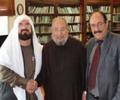 تصویر بارزانی دکتر یوسف قرضاوی را به کردستان دعوت کرد