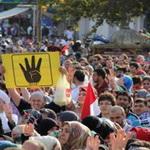 تصویر تظاهرات میلیونی طرفداران اخوان المسلمین و مخالفت با مواضع شیخ الازهر