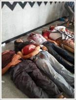 تصویر ٢٠٠ نفر شهید و ٨ هزار نفر زخمی در قصابخانەی بامداد امروز قاهرە