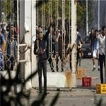 تصویر درگیری نیروهای امنیتی مصر با دانشجویان