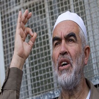 تصویر رئیس جنبش اسلامی فلسطین راهی زندان بئرالسبع شد