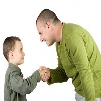 تصویر چگونگی استفاده صحیح از تشویق در تربیت فرزندان