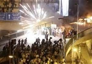 Photo of درگیری هواداران اخوان وهواداران دولت در شهر الجیزه