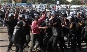 تصویر کودتاگران در کمین خبرنگاران الجزیره