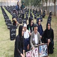 تصویر مراسم بیست و هشتمین سالگرد کشتار حلبچه