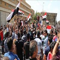 Photo of تظاهرات هواداران مقتدی صدر در بغداد