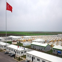 تصویر کمک های بشردوستانه ترکیه به پناهجویان سوری ۲۰ برابر کمکهای جهانی است