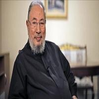 Photo of قرضاوى: السيسى اختيارى از خود ندارد و مردم مصر مىتوانند با تظاهرات او را سرنگون كنند