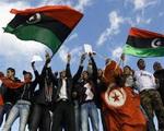 تصویر تونسی ها در حمایت از جنبش النهضه و عدم دخالت دیگران تظاهرات کردند