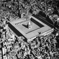Photo of عکس: تصویری منحصربهفرد از مسجد «ابن طولون» در قاهره