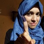 تصویر ولایت یافتن زنان بر مردان و نامزد شدن زنان برای انتخابات مجلس